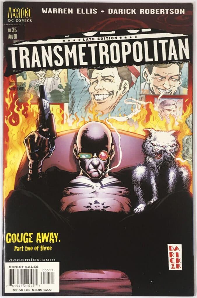 Transmetropolitan (1998-2002) #35 - Fine