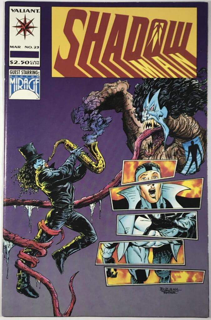 Shadowman Vol. 1 (1992-1995) #23 - Very Fine