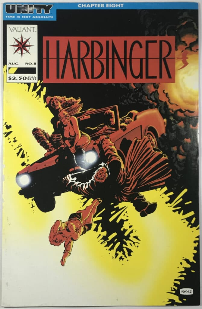 Harbinger Vol. 1 (1992-1995) #8 - Very Good