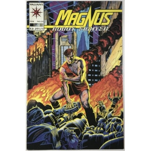 Magnus, Robot Fighter Vol. 2 (1991-1996) #21 - Fine