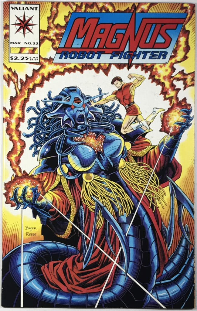 Magnus, Robot Fighter Vol. 2 (1991-1996) #22 - Fine