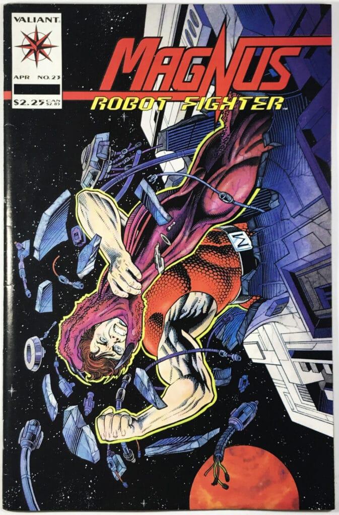 Magnus, Robot Fighter Vol. 2 (1991-1996) #23 - Very Good