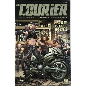The Courier: From The Ashes (2017) #1B - Fine