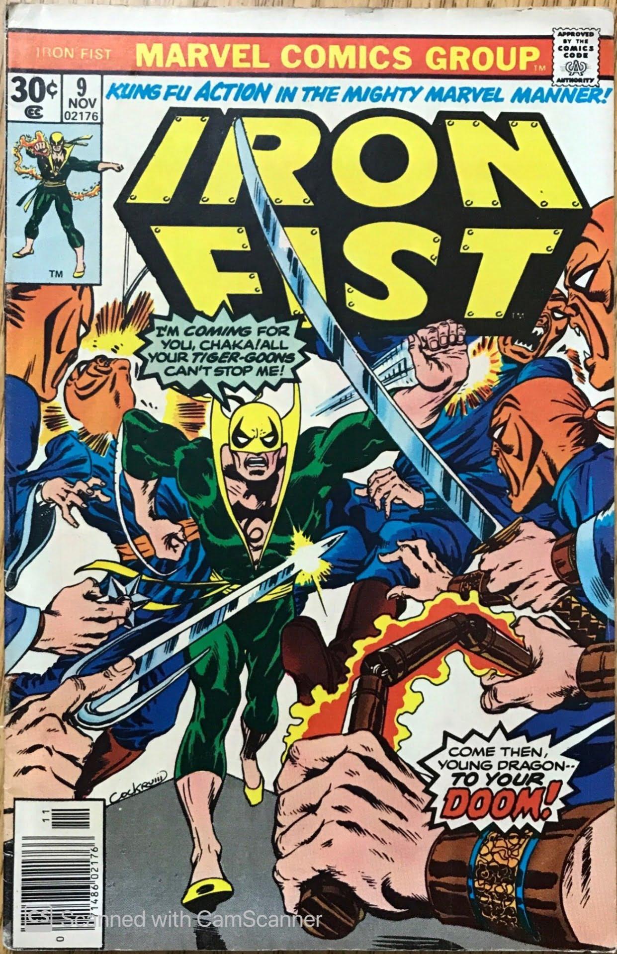 Iron Fist Vol. 1 (1975-1977) #9 - Very Good