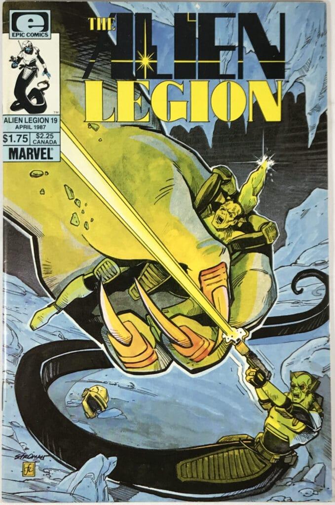 Alien Legion مجلد 1 (1984-1987) العدد 19 - حسن 1