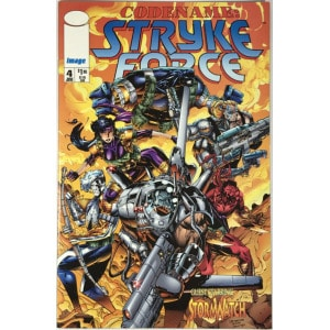 Codename: Stryke Force (1994-1995) #4 - حسن جدا