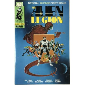 Alien Legion Vol. 1 (1984-1987) #1 - Fine
