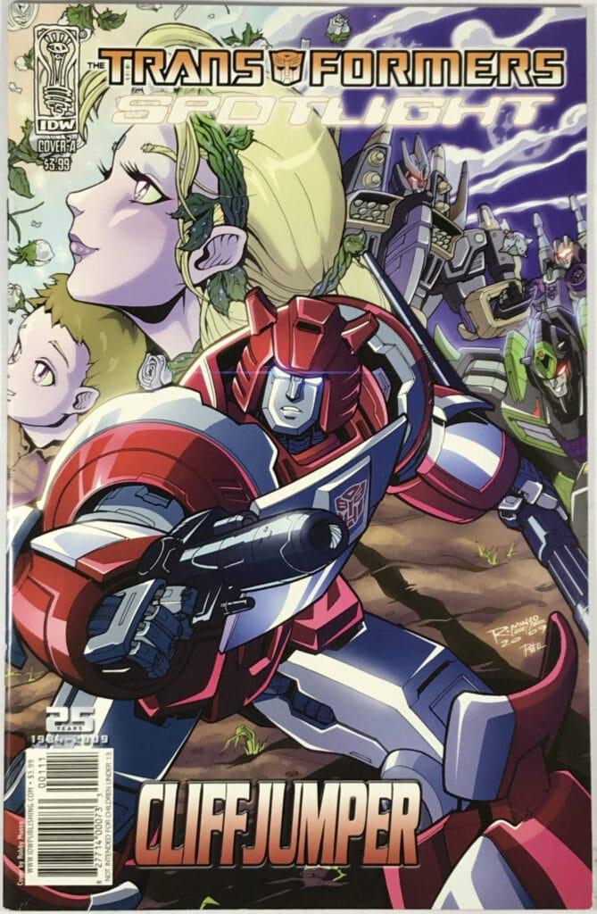 Transformers Spotlight: Cliffjumper One-Shot (2009) #1A - Fine