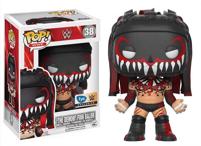 """Funko Pop! WWE: """"The Demon"""" Finn Balor (FYE Exclusive)"""