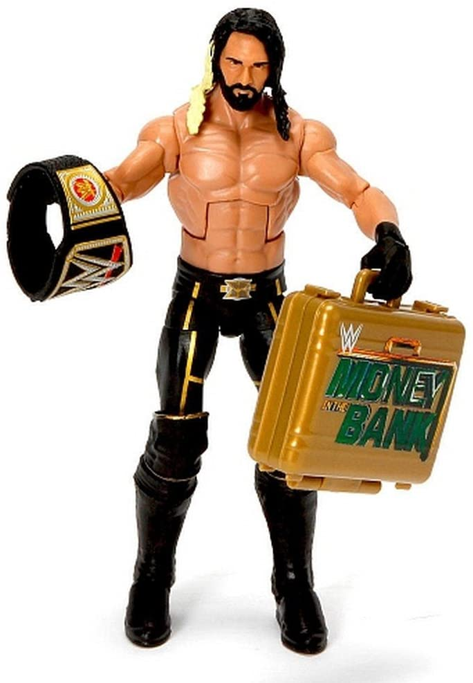 WWE Wrestling Elite Collection WrestleMania 31 Seth Rollins Exclusive Action Figure [Money in the Bank]