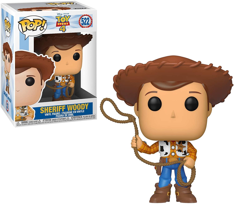 Funko Pop! Disney: Toy Story 4 - Sheriff Woody Vinyl Figure