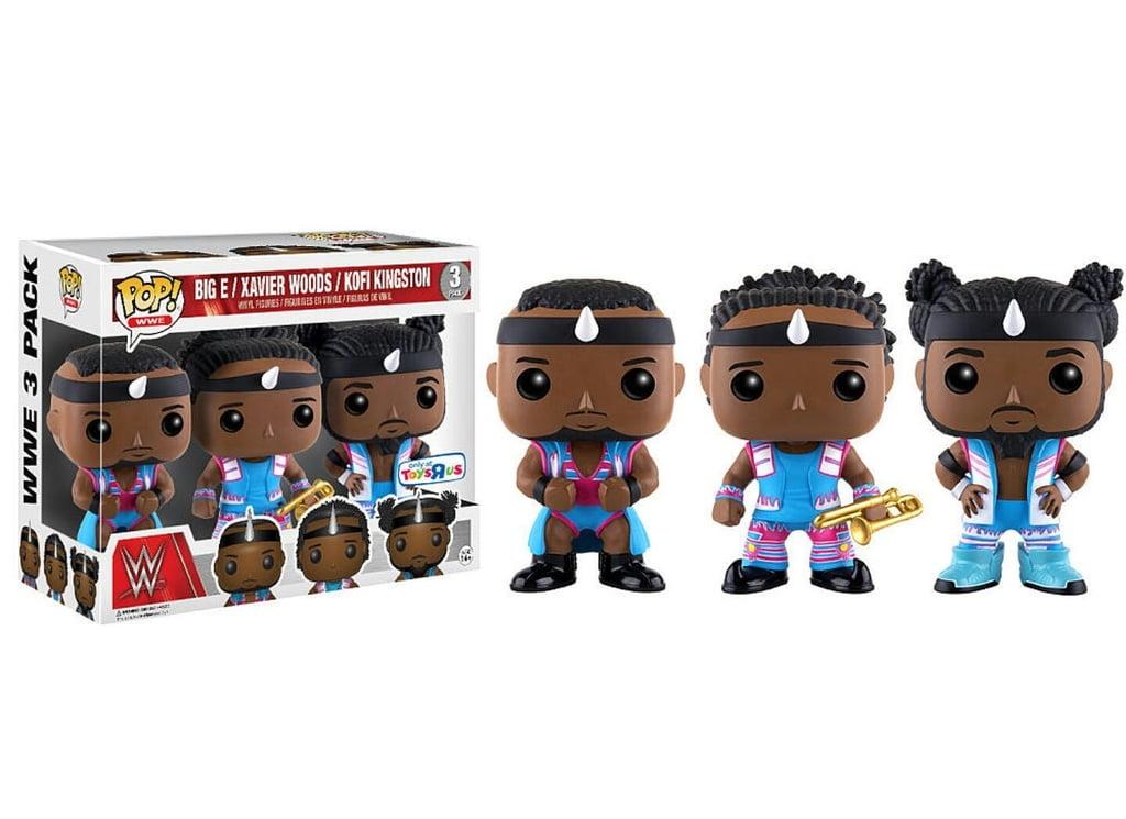 "Funko Pop! WWE: Big E, Xavier Woods, & Kofi Kingston (3-Pack) Toys""R""Us Exclusive, Vinyl Figures"