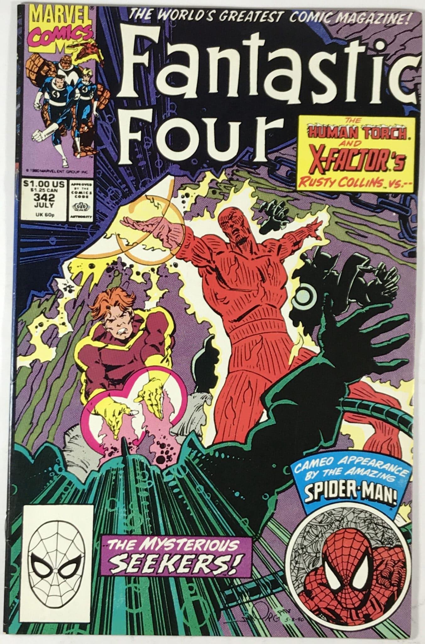Fantastic Four (1961-1998) #342 Comic Book - Very Fine