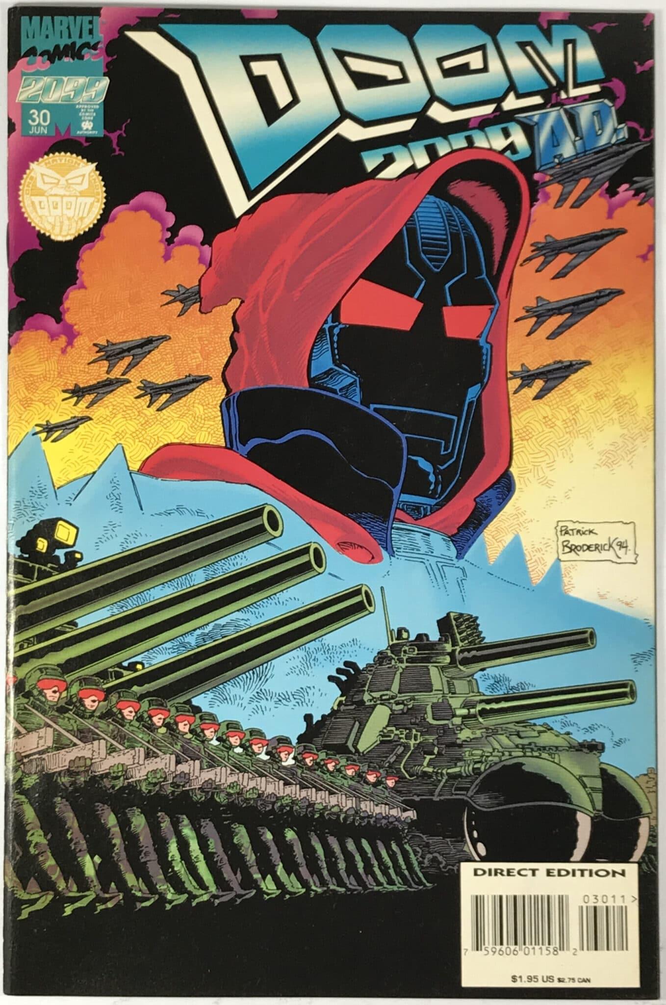 Doom 2099 (1993-1996) #30 Comic Book - Very Fine 1
