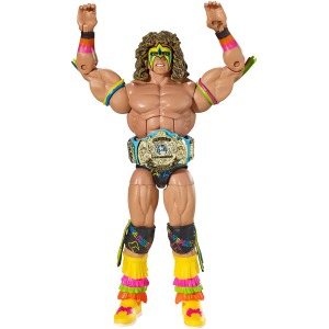 WWE Wrestling Elite Collection Hall of Fame Ultimate Warrior Exclusive Action Figure