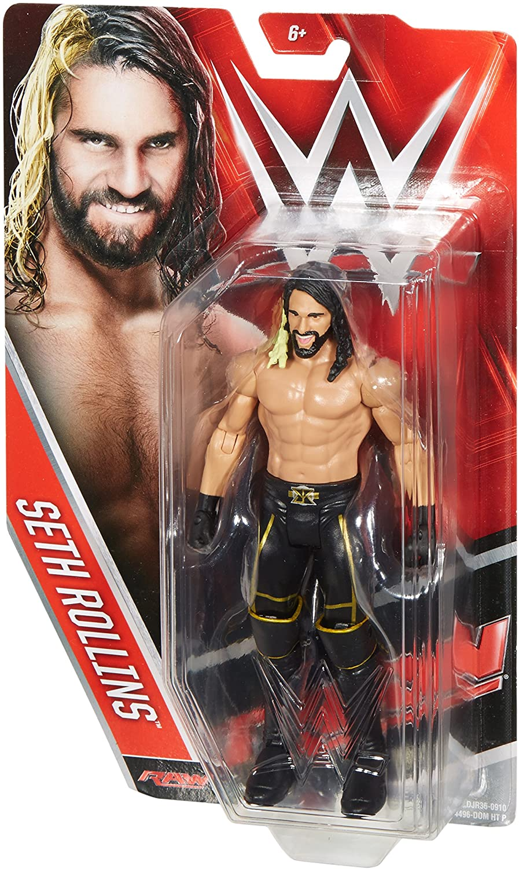 "WWE Wrestling Seth Rollins RAW Action Figure Superstar Scale 6"""