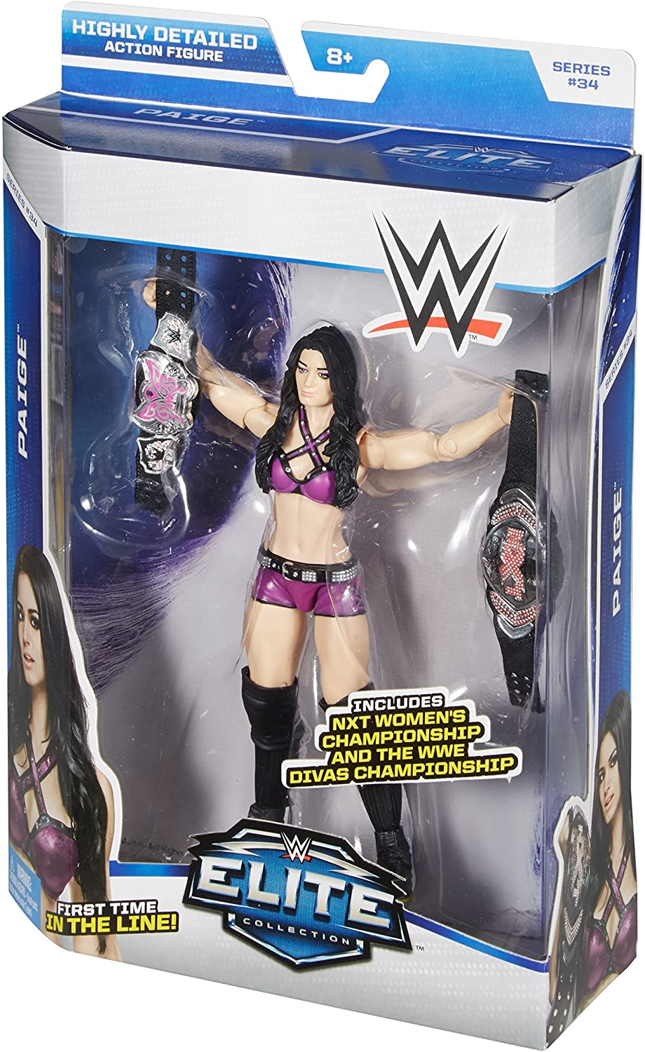 WWE Wrestling Elite Collection Series 34 Paige Action Figure