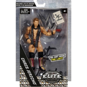 WWE Wrestling Elite Collection Chris Jericho Exclusive Action Figure
