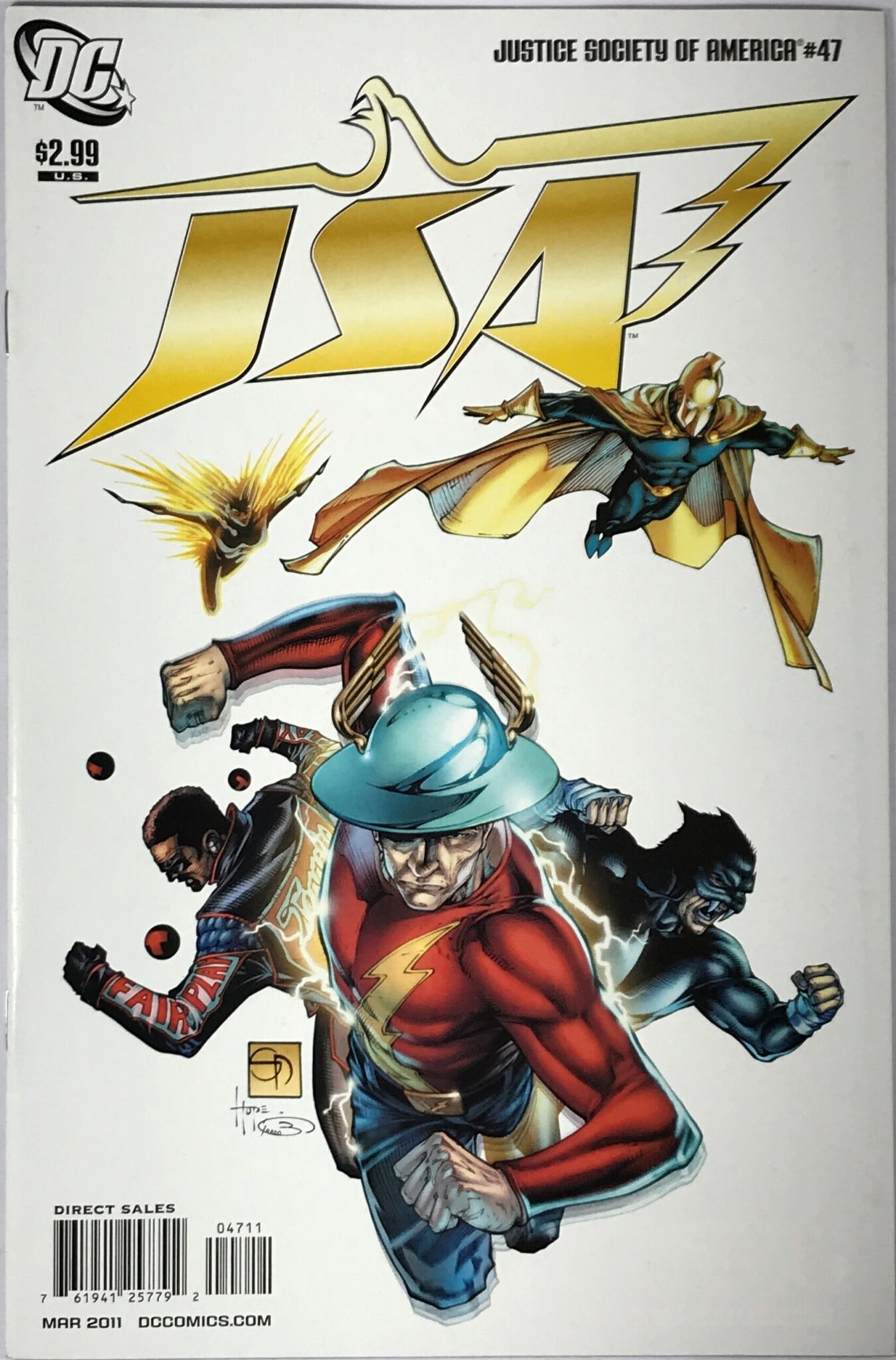 Justice Society of America Vol. 3 (2007-2011) #47 - Very Fine