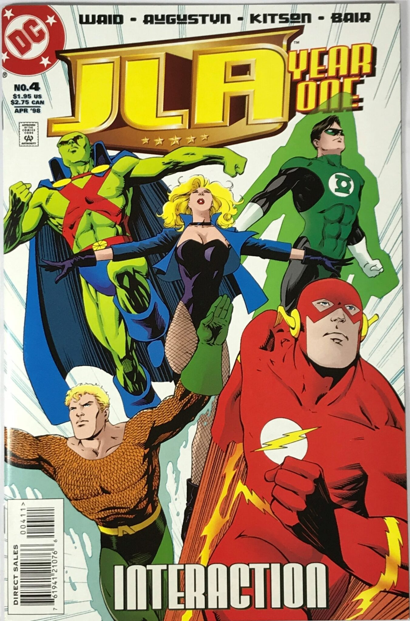 JLA: Year One Mini-Series (1998, 2017, 2020) #4 - Very Fine 1