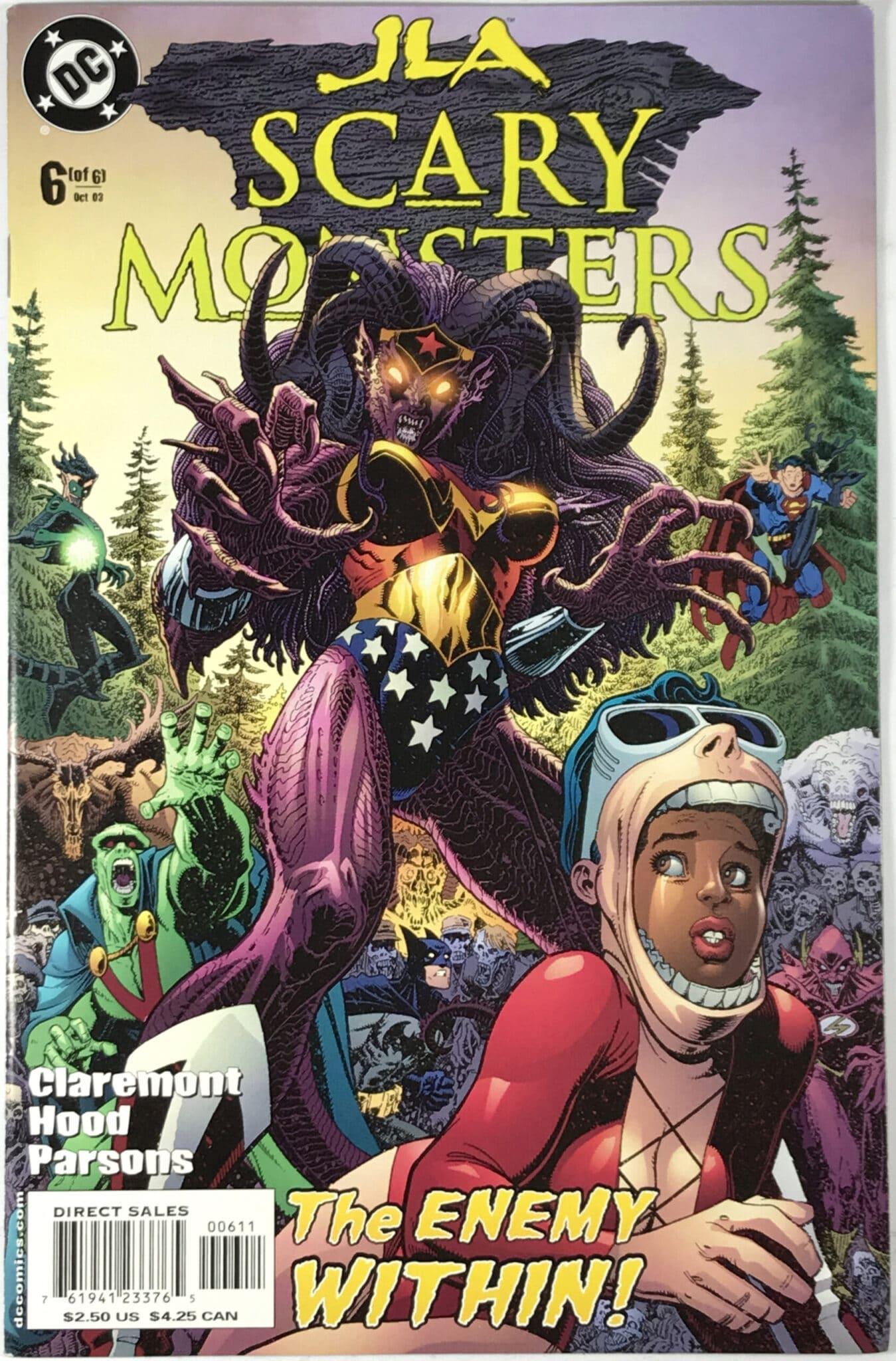 JLA: Scary Monsters (2003) #6 - Very Fine