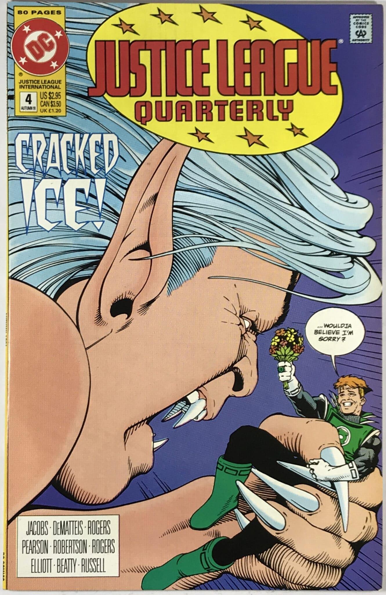 Justice League Quarterly (1990-1994) #4 - Very Fine