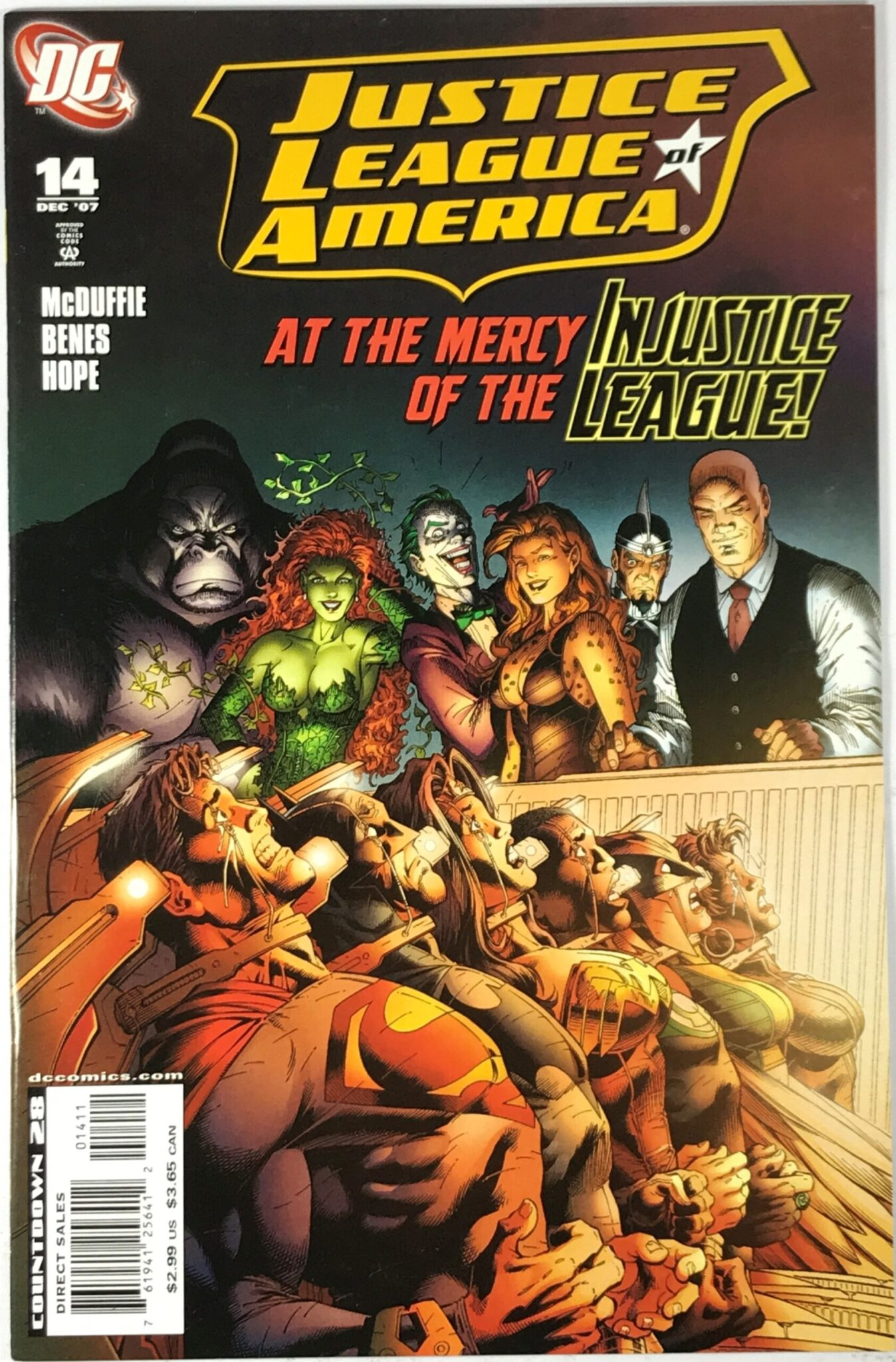 Justice League of America Vol. 2 (2006-2011) #14 - Very Fine 1
