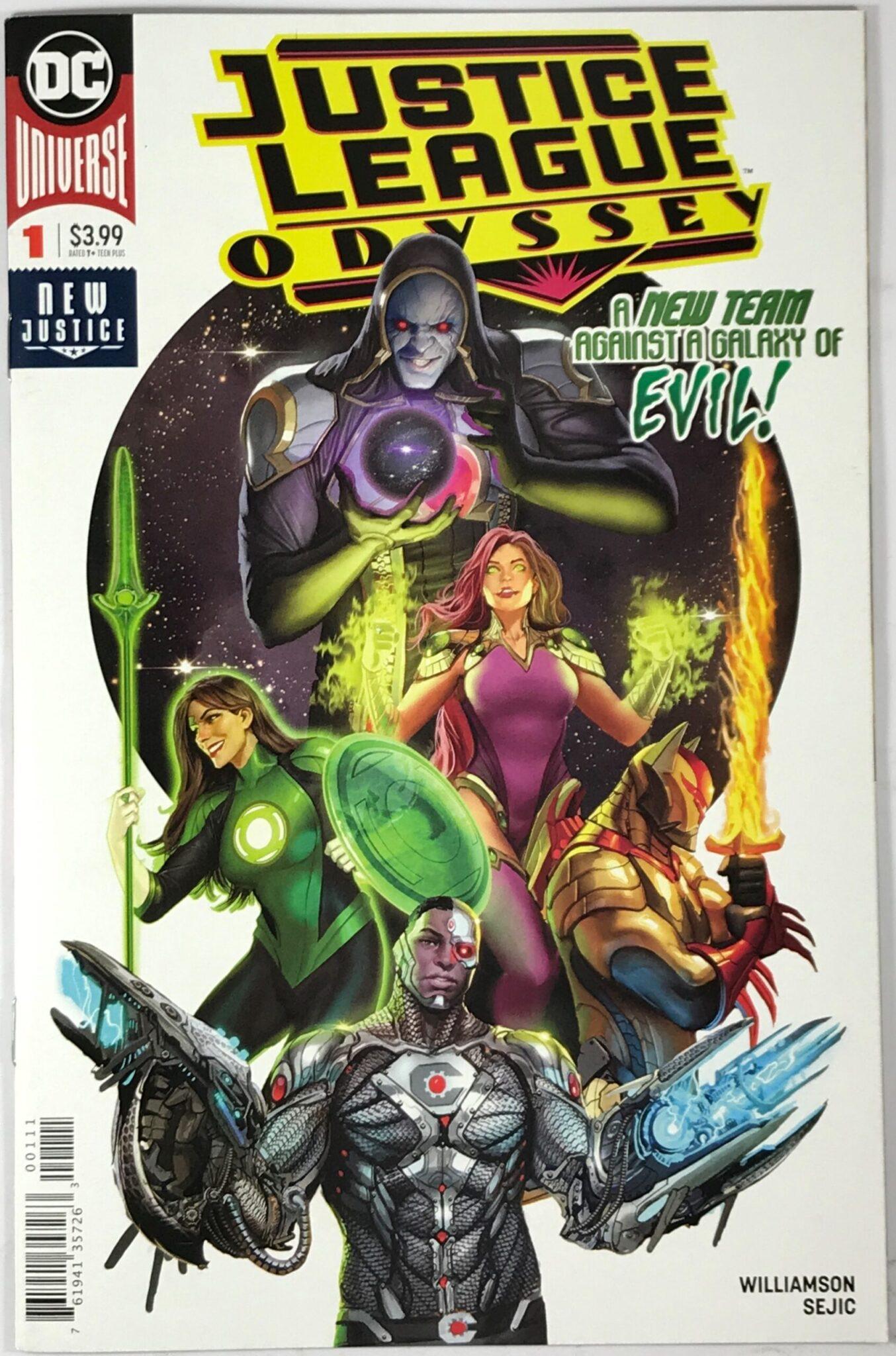 Justice League: Odyssey (2018-Present) #1 - Very Fine 1