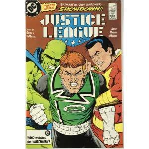 Justice League Vol. 1 (1987) #5 - Very Fine
