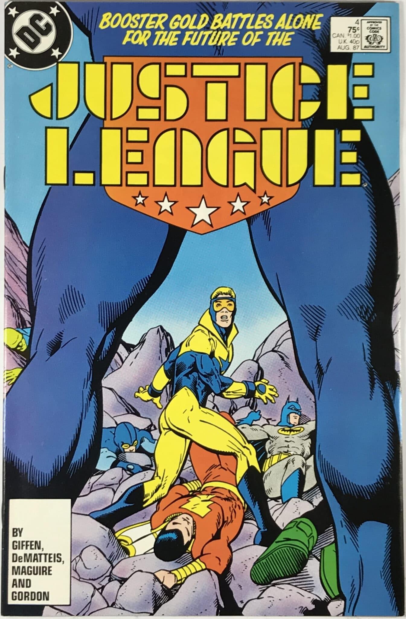 Justice League Vol. 1 (1987) #4 - Very Fine