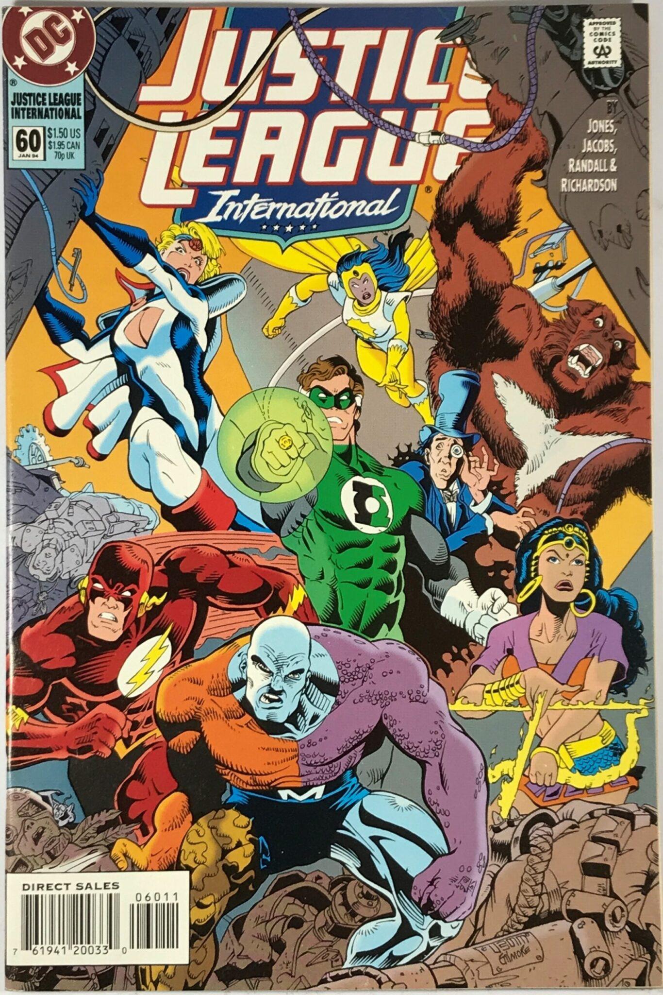 Justice League International Vol. 2 (1993-1994) #60 - Very Fine 1