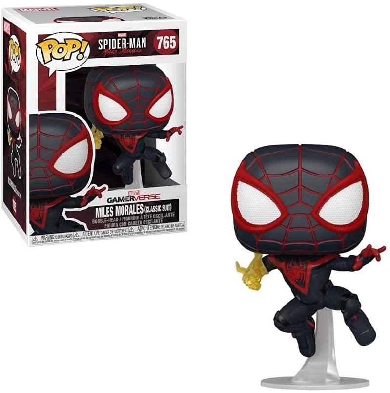 Funko Pop! Games: Miles Morales - Spider-Man, Vinyl Figure